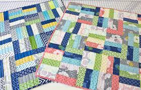 V and Co.: V and Co.: jelly roll jam quilt free pattern and video ... & so yeah seriously, ONE jelly roll, TWO quilts is awesome. check out the  tutorial video and check out the FREE pattern, cause it's totally worth it  and ... Adamdwight.com