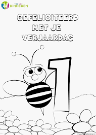 Beste Van Kleurplaat Verjaardag 6 Jaar Ideeën