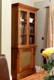 Mayfair Radiator Cabinet with Bookcase