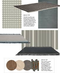 rugs clockwise from top left rug cream and grey tartan outdoor rug from r2 250 mobelli rug nido outdoor rug by patricia urquiola for kettal r50 700