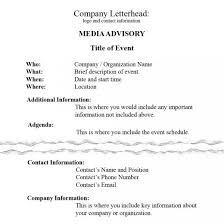 Media Advisory How To Write A Media Advisory Hubpages