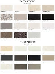 Quartz Stone Colour Chart Stone Vanity Top Colour Range Classique Vanities