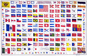 Flag Chart With Names File National And Commercial Flags Of All Nations 1868 Jpg