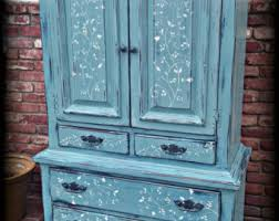 teal blue furniture. SOLD Vintage Armoire, Blue Children\u0027s Furniture, Wardrobe Rustic Armoire Teal Furniture R