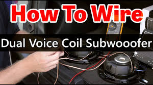 dual voice coil subwoofer wiring dual Alpine Type R 10 2 Ohm Wiring Diagram