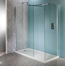 deluxe10 1400mm x 900mm walk in shower enclosure tray 10mm glass panels