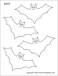A wicked witch is flying on her broom and is waiting for your kids to give. Bats Free Printable Templates Coloring Pages Firstpalette Com