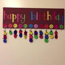 Family Birthday Chart Classroom Birthday Birthday Charts