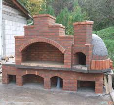 outdoor brick fireplace with pizza oven diy pizza oven plans free lovely outdoor brick fireplace with pizza