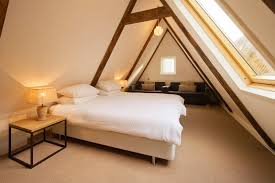 Attic Rooms With Sloped Ceilings Bedroom Attractive And Functional