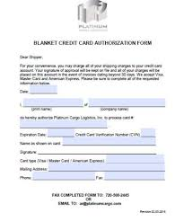 Credit Card On File Form Templates Credit Cards Authorization Form Template 39 Ready To Use