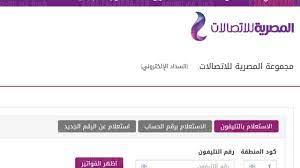 الاستعلام عن فاتورة التليفون الأرضي لشهر يوليو 2021 رابط موقع الشركة  المصرية للاتصالات WE وطرق السداد الإلكتروني - كورة في العارضة