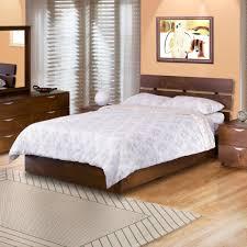 Teak Bedroom Furniture Buy Teak Wood Bed With Slit Headboard Lomiges Online In India