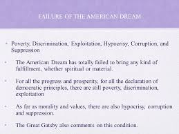 The Great Gatsby Corruption Of The American Dream Best of The Great Gatsby 24's America Ppt Download