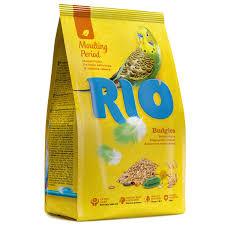 <b>RIO Budgies корм для</b> волнистых попугайчиков в период линьки ...