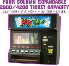 American Vending Machines Adorable Maxim 48 PullTab Ticket Machine