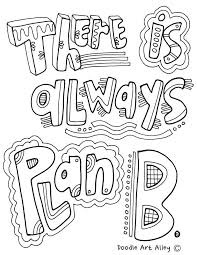 Growth Mindset Coloring Pages Classroom Doodles Growth Mindset