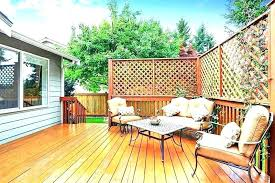 privacy fence design. Privacy Fence Ideas For Backyard Lattice Fences  Wood Deck With Design