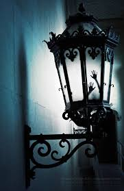 Halloween Make tiny hands or fairy wings to be placed inside porch lights.