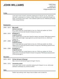 How To Create Resume In Word Inspiration Creating A Profession How To Create Professional Resume For Free