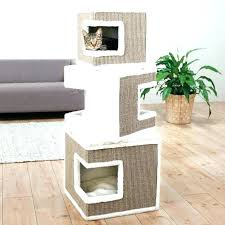 kitty condo wooden cat solid wood furniture