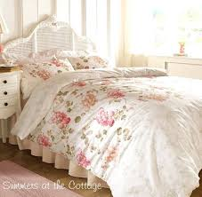 fl duvet set shabby country cottage chic french market fl queen duvet set view images blue fl duvet set