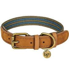 Details About Blueberry Pet Polyester Genuine Leather Dog Collar Small