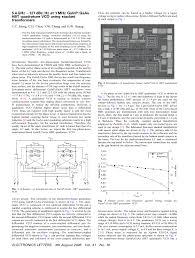 5.4 GHz -127 dBc/Hz at 1 MHz GaInP/GaAs HBT quadrature VCO using ...