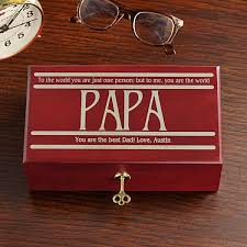 Office gifts for dad Funny To The World Keepsake Box Personal Creations 2019 Dad Gifts Personalized Gifts For Dads At Personal Creations