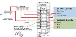 independent sourced circuit st blade fuse block blue sea systems st blade diagram