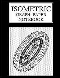 Buy Isometric Graph Paper Notebook Isometric Grid Paper 3d
