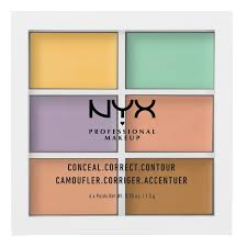 nyx professional makeup conceal correct contour palette color correcting concealer 9gm