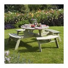 rowlinson round picnic bench