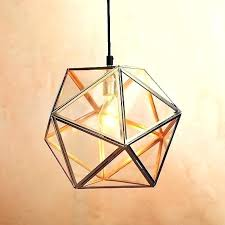 inspiring geometric pendant light gold canada