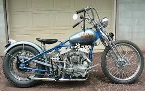 1942 harley wla flathead oldschool bobber motorcycle