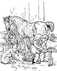 Clipart horse shoeing johnny automatic horse shoeing johnny automatic horse shoeing description horse shoeing mammoth wiring diagram free download