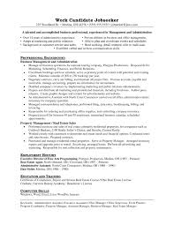 Resident Manager Resume Sample Sidemcicek Com