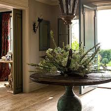 round foyer tables the connecticut home of juliska founders david and capucine gooding foyer in a