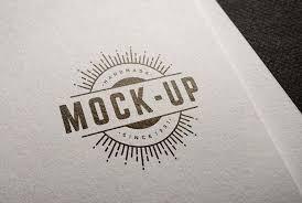 Logo Mock Up Free Logo Mockup Psd