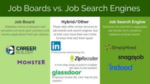 Job Engines Job Boards And Job Search Engines Do You Know The Difference