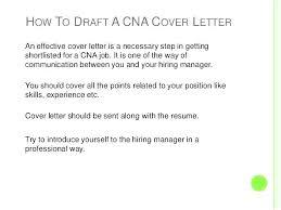 Cna Cover Letter Samples Cna Cover Letter For Hospital Major Magdalene Project Org