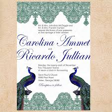 peacock invitations peacock invitation cards peacock wedding invitations canada