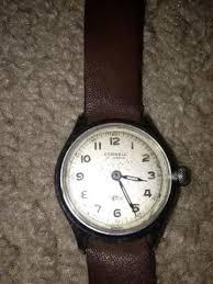 WW2 US Cornell 17 Jewel Incabloc Swiss Made Military Watch ...