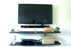 shelf unit floating shelves wall mount television tables living room furniture with tv white