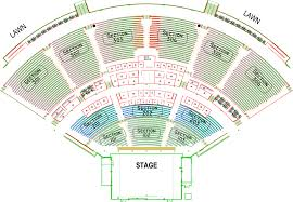 Coral Sky Seating Coral Sky Amphitheatre Seating Chart