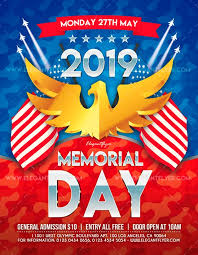 Memorial Day Free Psd Flyer Template Free Psd Flyer