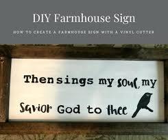 diy vinyl cutter make it farmhouse sign diy vinyl cutter head