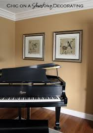 baby grand piano living room by chic on a shoestring decorating on baby grand piano wall art with chic on a shoestring decorating grand piano living room
