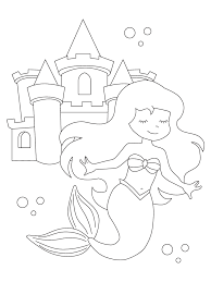 Printable drawings and coloring pages. Free Printable Mermaid Coloring Pages Parents
