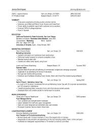 Business Resume Templates Fascinating Business Resume Template JmckellCom